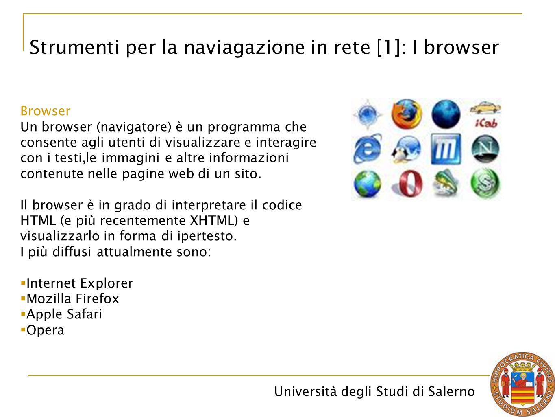 Strumenti per la naviagazione in rete [1]: I browser